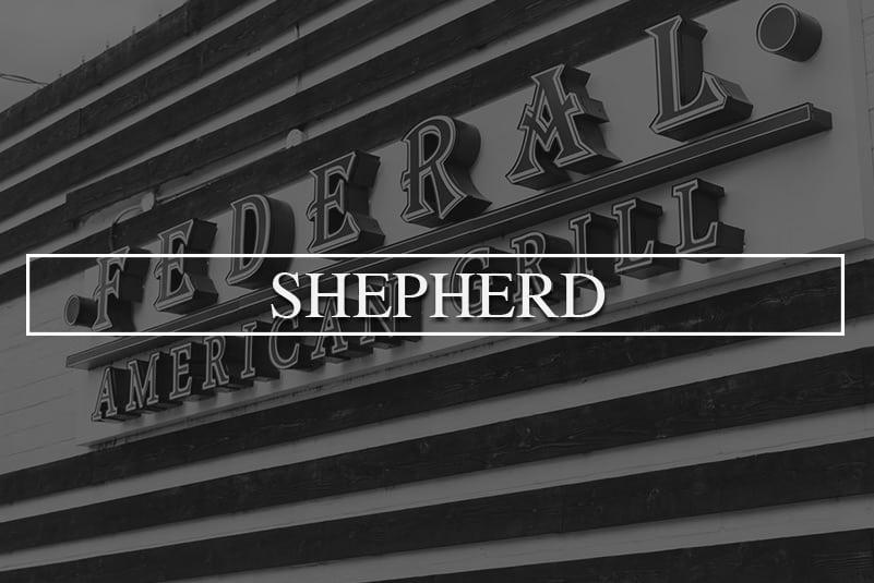 Federal Grill Shepherd